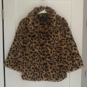 BOGO Animal Print Faux Fur Leopard Cheetah jacket
